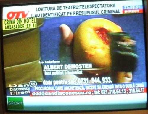 """Ciocanul lui Gheorghe şi """"rana"""" din grapefruit."""