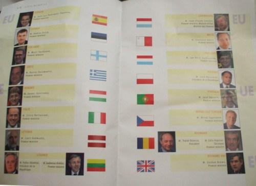 România şi Lituania, cele două state reprezentate şi de preşedinte şi premier.