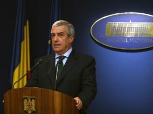 """Tăriceanu vorbeşte românilor din spaţiul """"recolorat"""" de la Guvern"""