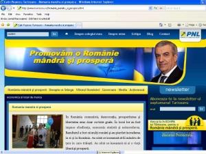 Tăriceanu foloseşte sloganul PNL în declaraţiile sale de premier