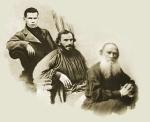 Lev Tolstoi, tânăr, matur, bătrân
