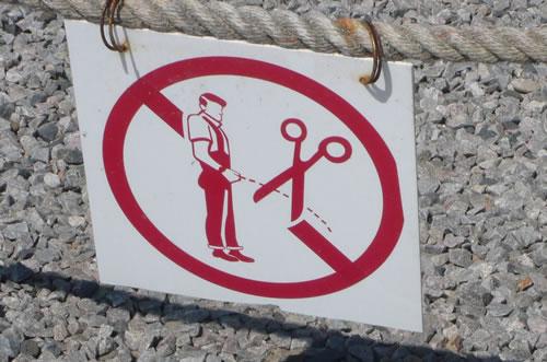 Don't pee antisocial