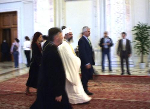 La lucrări a asistat şi Patriarhul Daniel