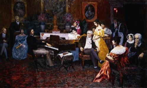 Frederic Chopin, la pian