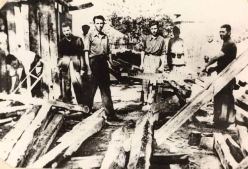 1943.în lagărul de la Tg. Jiu